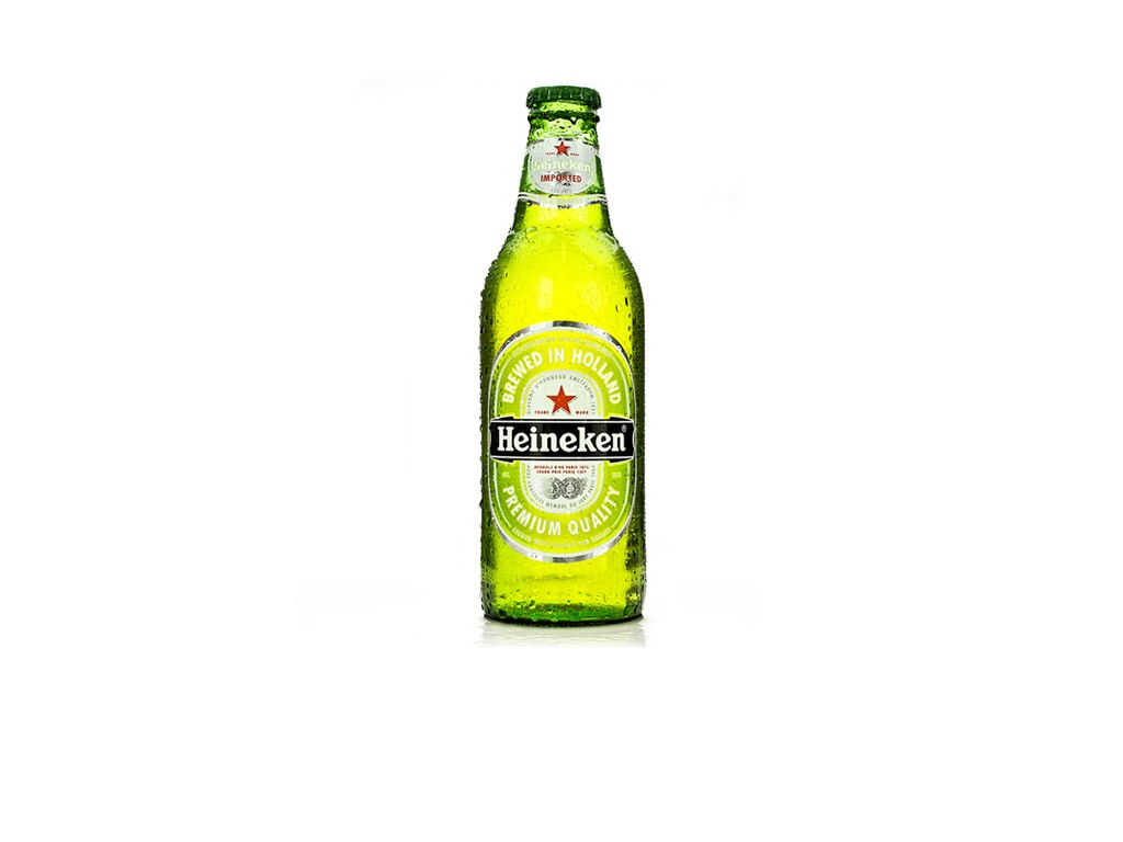 Image of Heineken Bottle on White Photograph by Canaan Albright